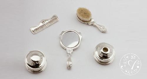 Victorian Vanity Set