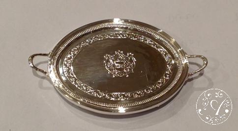 English Decorated Tray