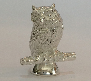 1C- Owl figurine