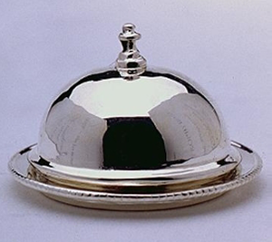 "Butter Dish / 1/2"" Covered Platter"
