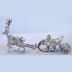 1C Reindeer and Sleigh