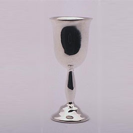 Tulip Shaped Wine Goblet